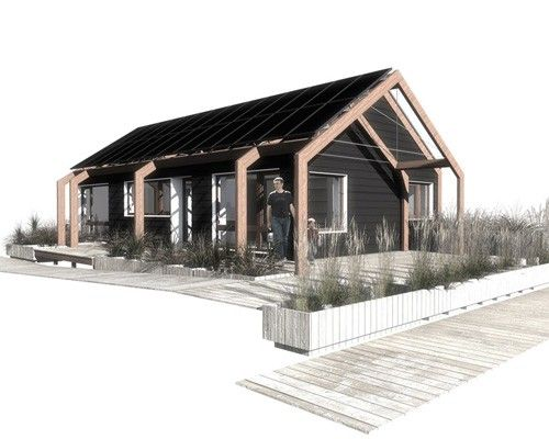 Corporate Responsibility Architecture Solar House House