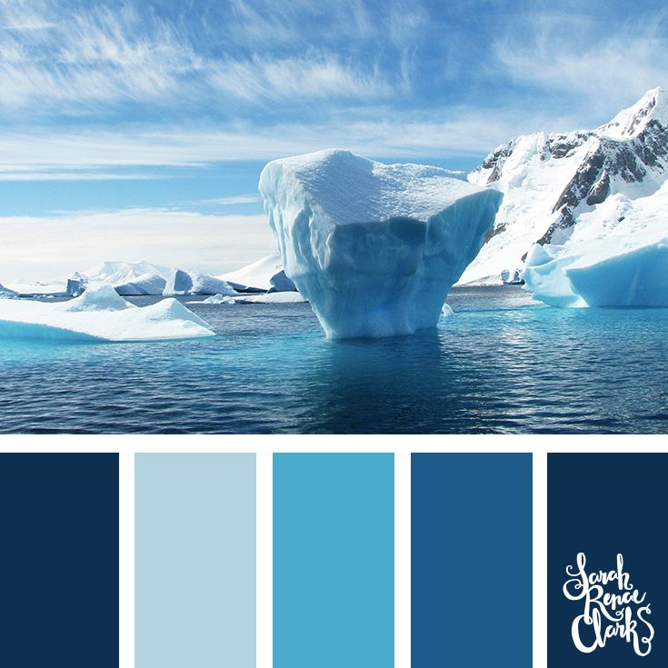 Ocean Color Palette: 25 Color Palettes Inspired By Beautiful Landscapes