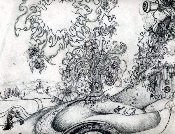 Trippy Coloring Book Pages | Psychedelic Coloring Pages | deviantART ...