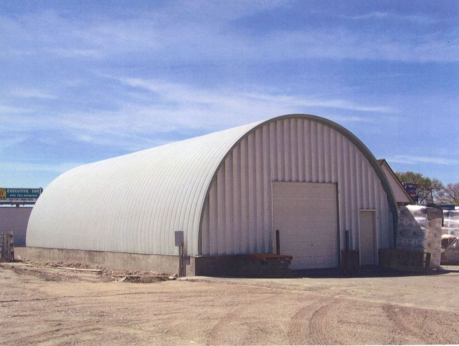 East Idaho Quonset Buildings Hut House Architecture