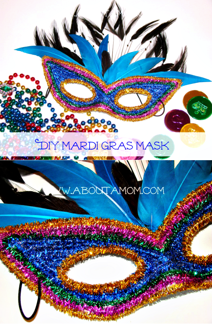 A Mardi Gras Mask Craft This Diy Mardi Gras Mask Is Festive And Fun To Make Mardi Gras Mask Mardi Gras Crafts Mardi Gras Diy