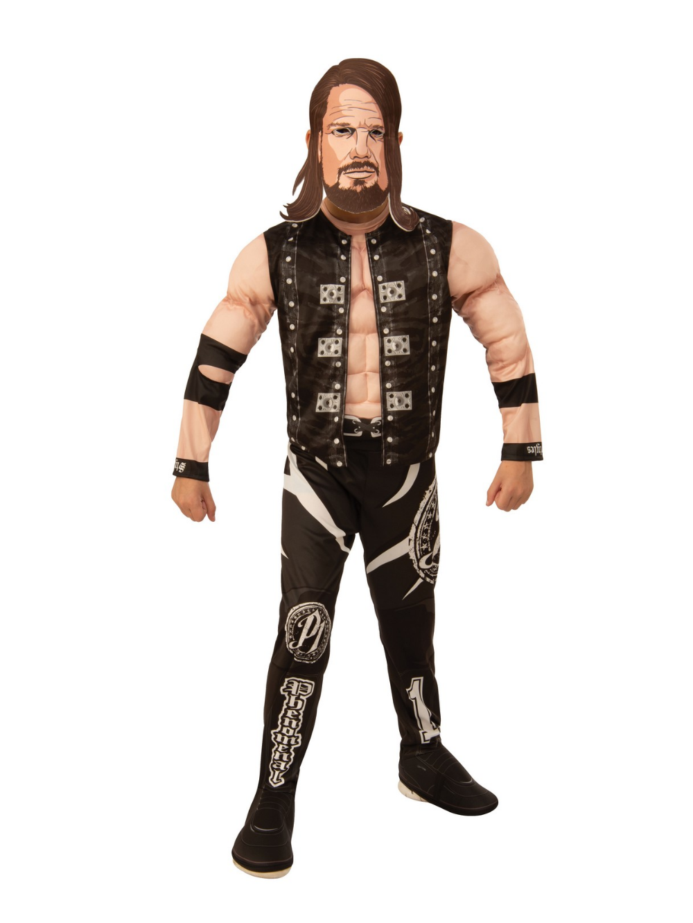 Halloween 2020 Children In Mind WWE AJ Styles Deluxe Child Costume   PartyBell.in 2020