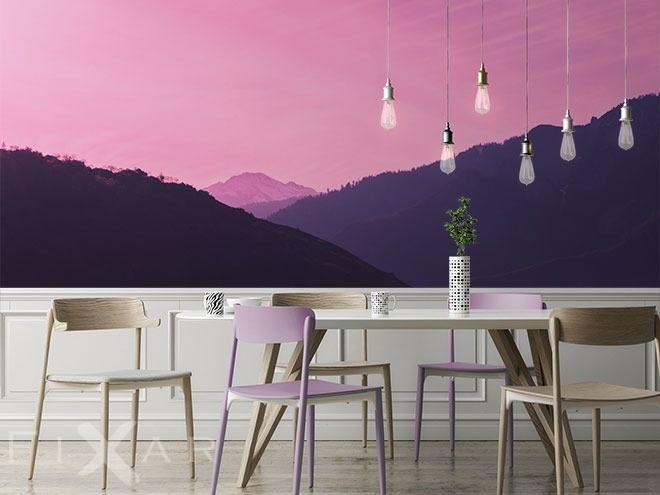 In der Magie- und Farbenwelt Fototapeten für Küche und Esszimmer - küche mit esszimmer