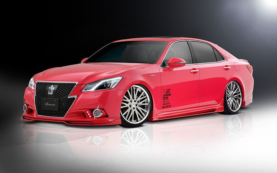 Exceptionnel Тюнинг Toyota Crown Athlete от Rowen