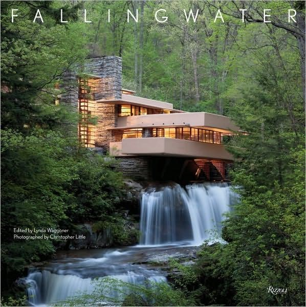 fallingwater by l waggoner architecture pinterest falling waters frank lloyd wright and. Black Bedroom Furniture Sets. Home Design Ideas