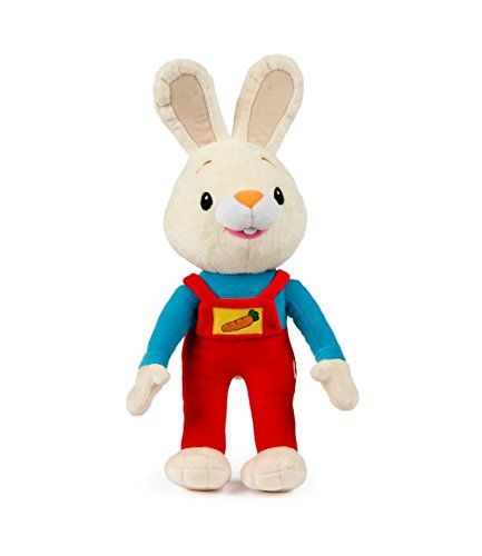 Bunny Of The Year Baby First Tv Harry The Bunny Soft Plush Toy Stuffed Animals For The Perfect Baby Shower Gi Baby Plush Toys Baby First Tv Best Baby Toys