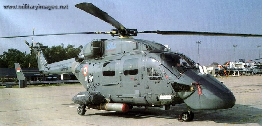Resultado de la imagen para Dhruv Mk III Advanced Light Helicopter (ALH) naval