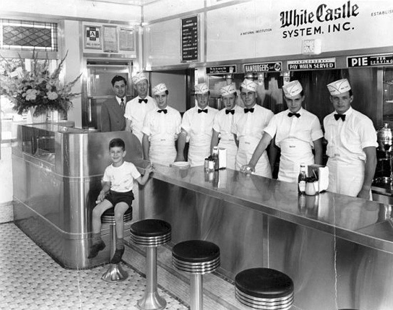 White Castle in Ohio 1960's fast food Pinterest Ohio