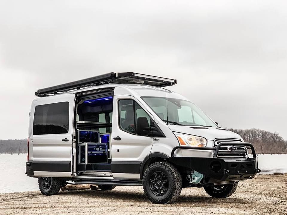 #VanDOit #AdventureVan with #Quigley4x4. #campervan # ...