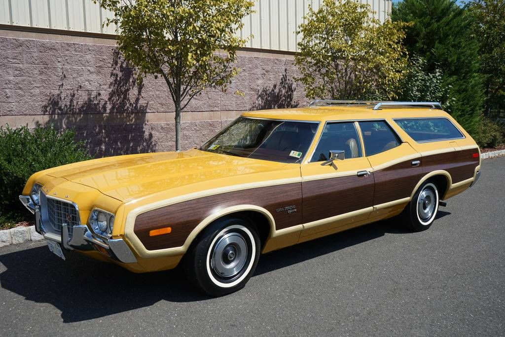 451 Mile 1972 Ford Gran Torino Squire Wagon Station Wagon Ford