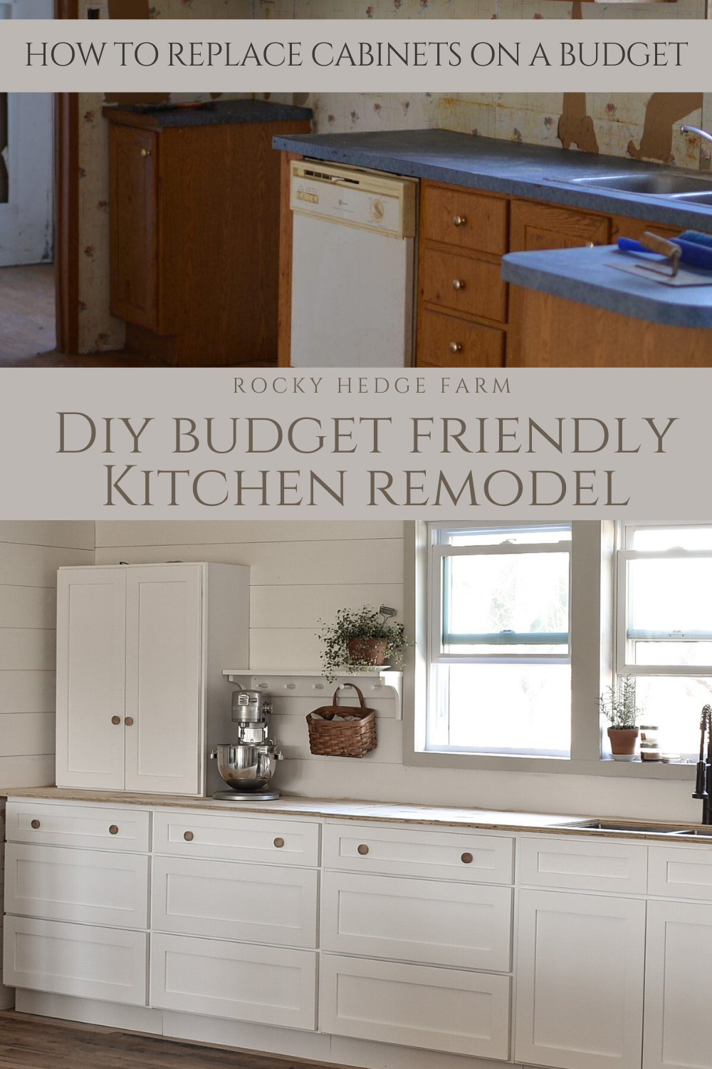 Kitchen Cabinet Remodel On A Budget In 2020 Mobile Home Kitchen Cabinets Budget Kitchen Remodel Budget Friendly Kitchen Remodel