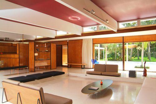 Mid Century Modern: Cohen House, Sarasota, FL. Paul Rudolph, Architect