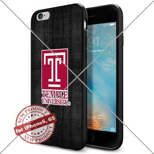 WADE CASE Temple Owls Logo NCAA Cool Apple iPhone6 6S Case #1584 Black Smartphone Case Cover Collector TPU Rubber [Black] WADE CASE http://www.amazon.com/dp/B017J7EN36/ref=cm_sw_r_pi_dp_Sg0vwb19BPX3K