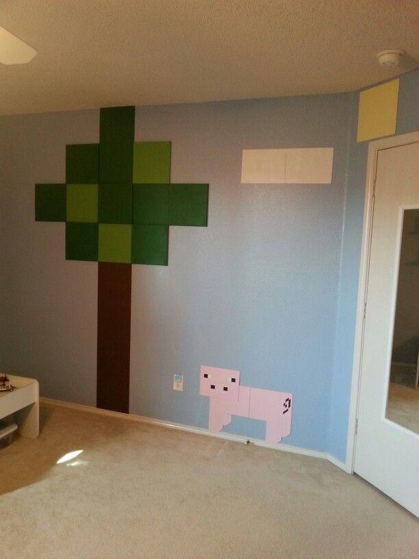 Jonathan joshua 39 s minecraft room jonathans room - Minecraft kinderzimmer ...