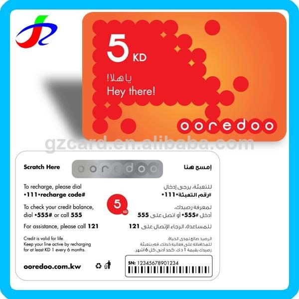 paper telecom mobile voip recharge card $0 01~$0 05 | Mobile | Phone