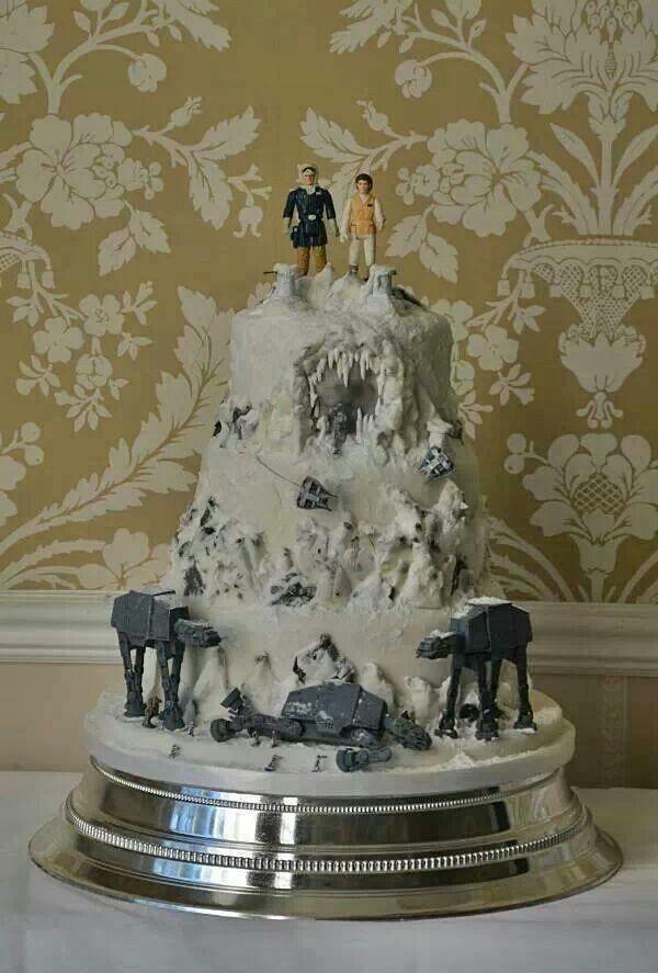Star Wars Let Them Eat Cake Hochzeitstorte Star Wars Hochzeit