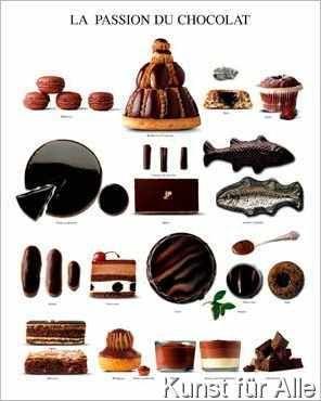 atelier nouvelles images schokoladenliebe kunstdrucke. Black Bedroom Furniture Sets. Home Design Ideas
