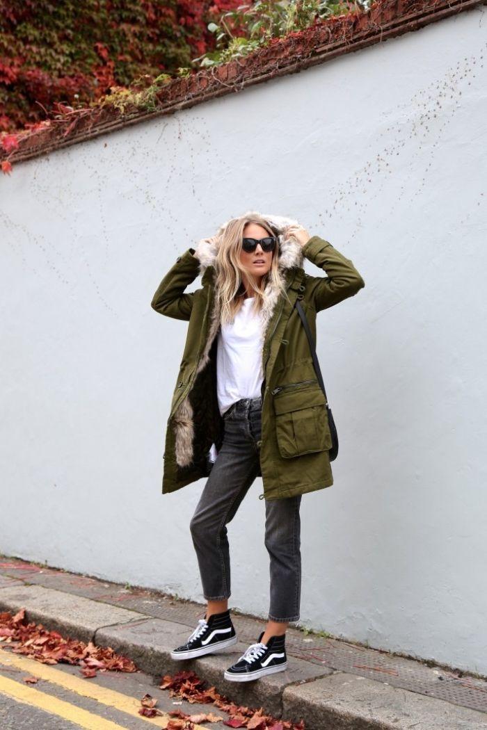 ▷ 1001 idées pour la tenue avec veste kaki parfaite | How to ...