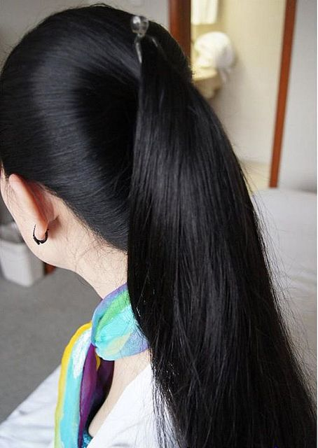 Nice And Silky Banana Hair Clips Long Hair Ponytail