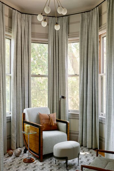 Floor To Ceiling Window Treatments Living Room Bay Window Living Room Living Room Windows
