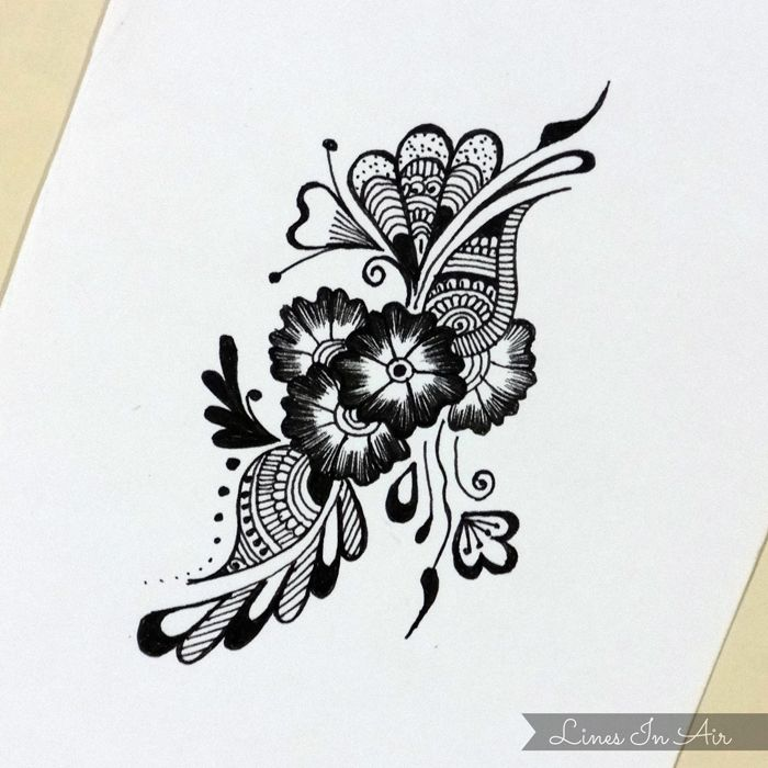 Henna Mehndi Design By Linesinair On Deviantart Henna Designs On