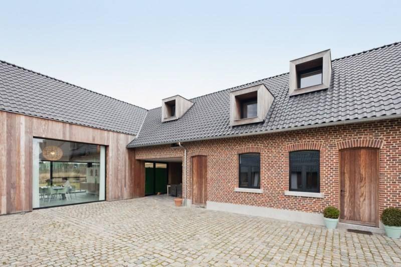 Renovatie hoeve gerenoveerde hoeves pinterest renovatie en hoeves - Oude huis renovatie ...