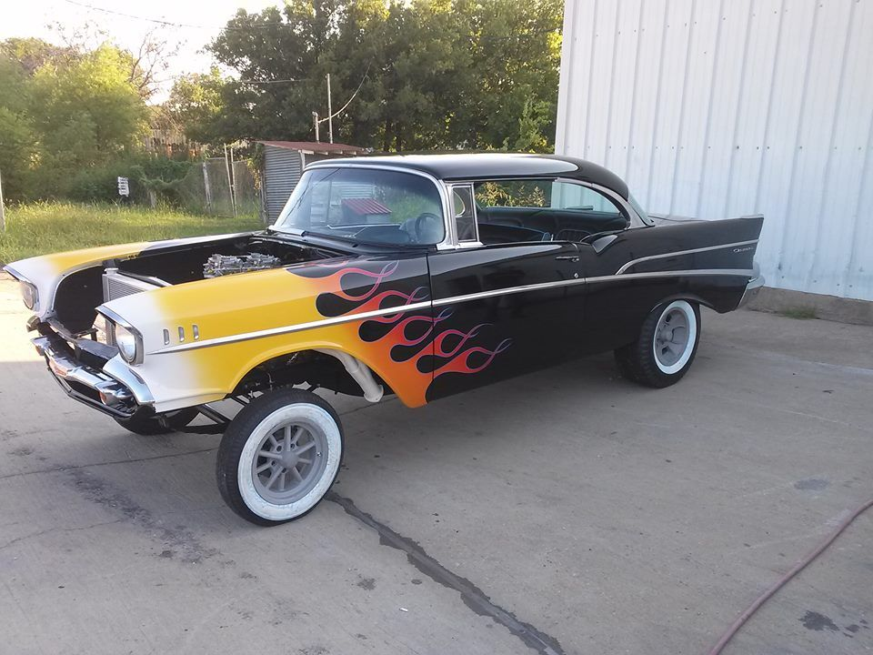 Finished 1957 Gaser by Color By Corbett  As featured in
