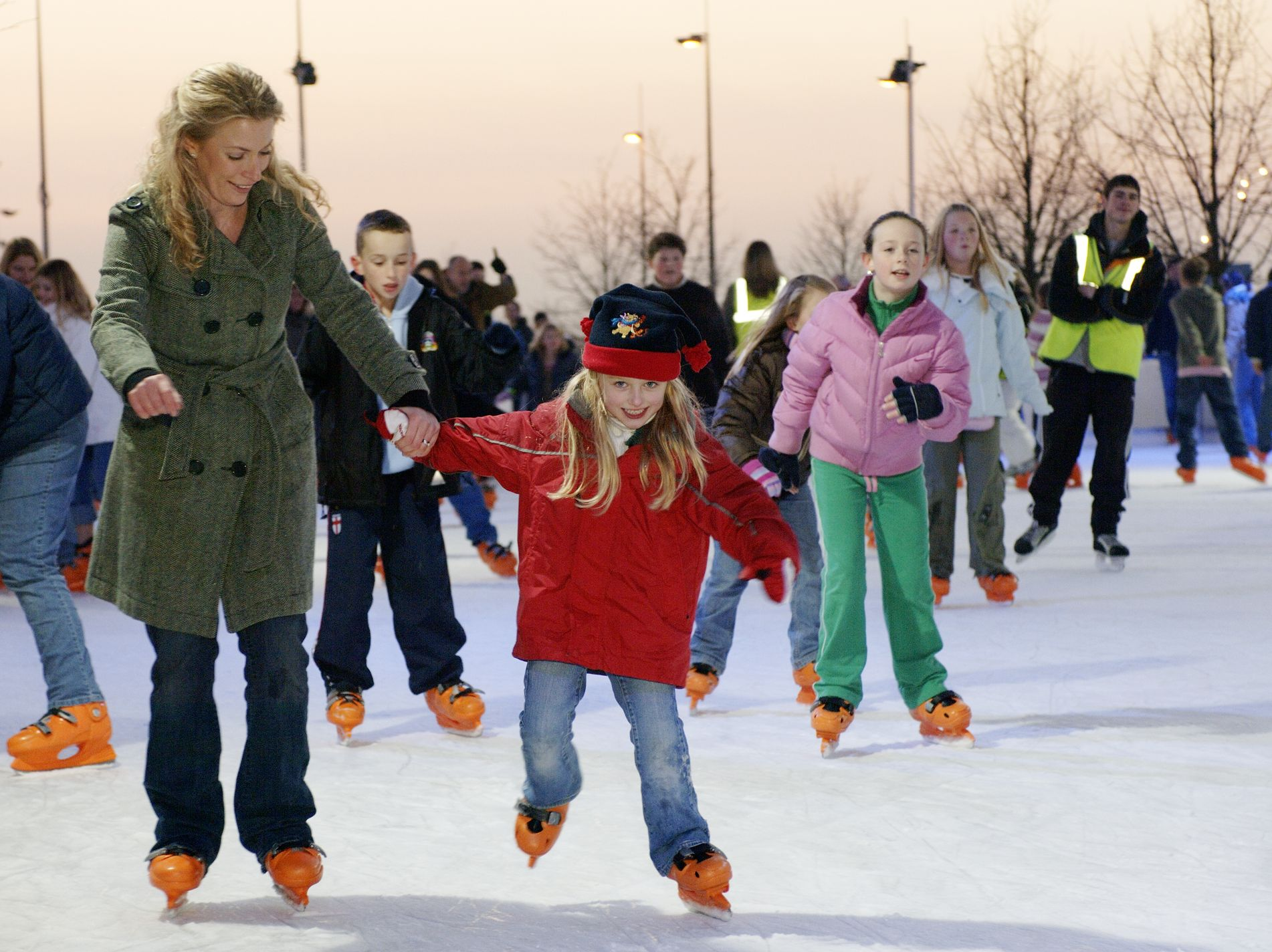ice skating comes to christmasinthegarden 2015 join us november