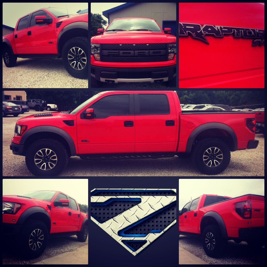 2012 Ford Raptor Red Crew Cap Under 10000 Miles Zeckford