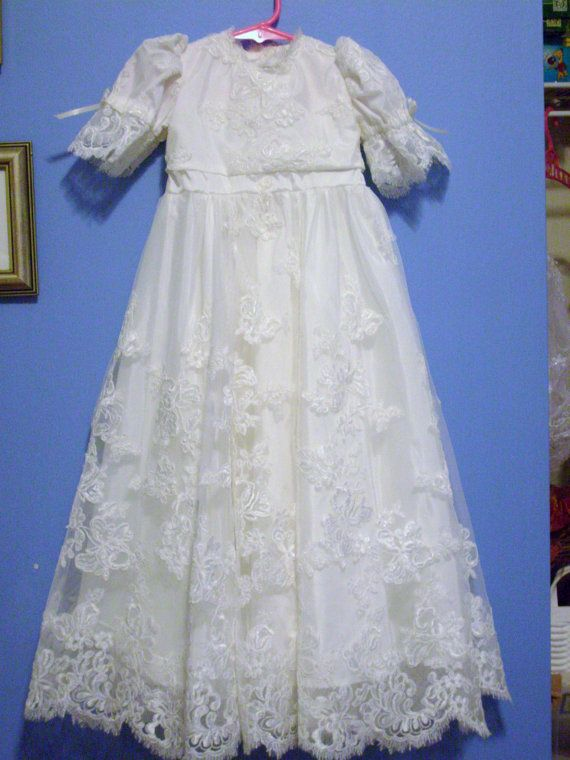 Custom designed Baptism Gown made from your Wedding Gown | the ...