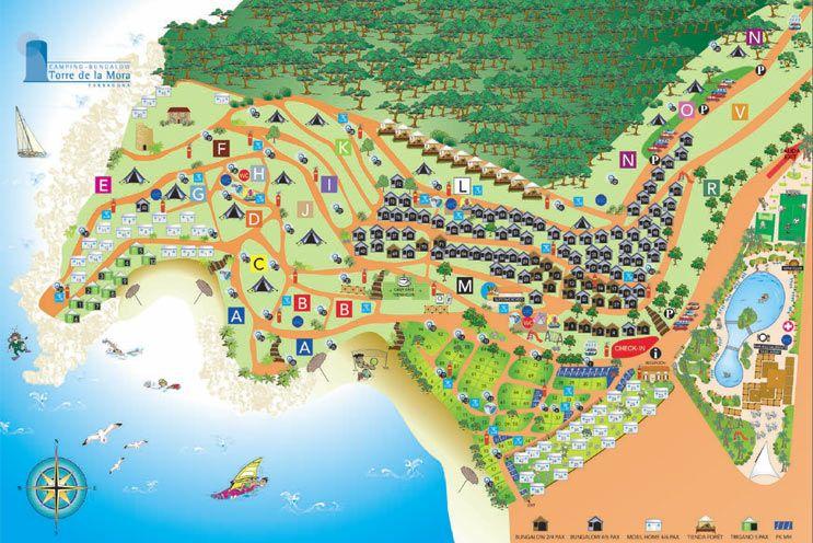 Camping TORRE DE LA MORA Tarragona Visita virtual Escapades