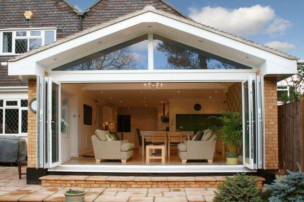 Bi Fold Doors Open | Home Ideas | Pinterest | Bi fold doors, Door ...