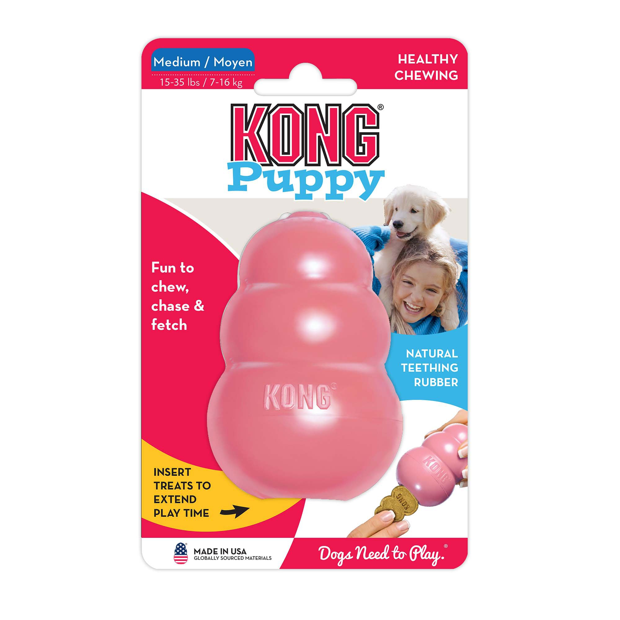 Puppy Kong Dog Toy Medium Blue Kong Dog Toys Toy Puppies Dog