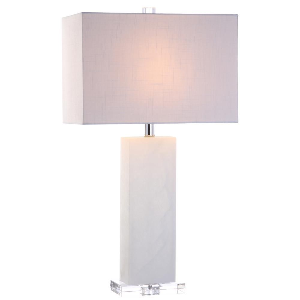 Jonathan Y Tiggie 27 In H White Alabaster Table Lamp Table Lamp Dorm Room Designs Light My Fire