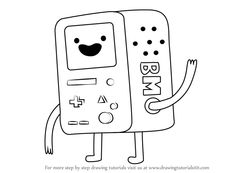 How To Draw Bmo From Adventure Time Drawingtutorials101 Com Adventure Time Drawings Adventure Time Wallpaper Adventure Time