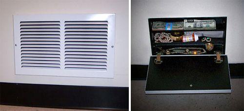 Air Vent Secret Compartment Ohgizmo Home Hidden Safe Secret Compartment