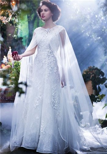 8432ceef4f78 White Dress · Disney Fairy Tale Weddings by Alfred Angelo  gt  gt  Snow  white is wishing for