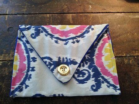 Tribal Envelope Clutch A Bushel Peck Boutique