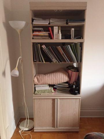 Belle bibliotheque mélanime!!! À DONNER!!!!! bookcases, shelving