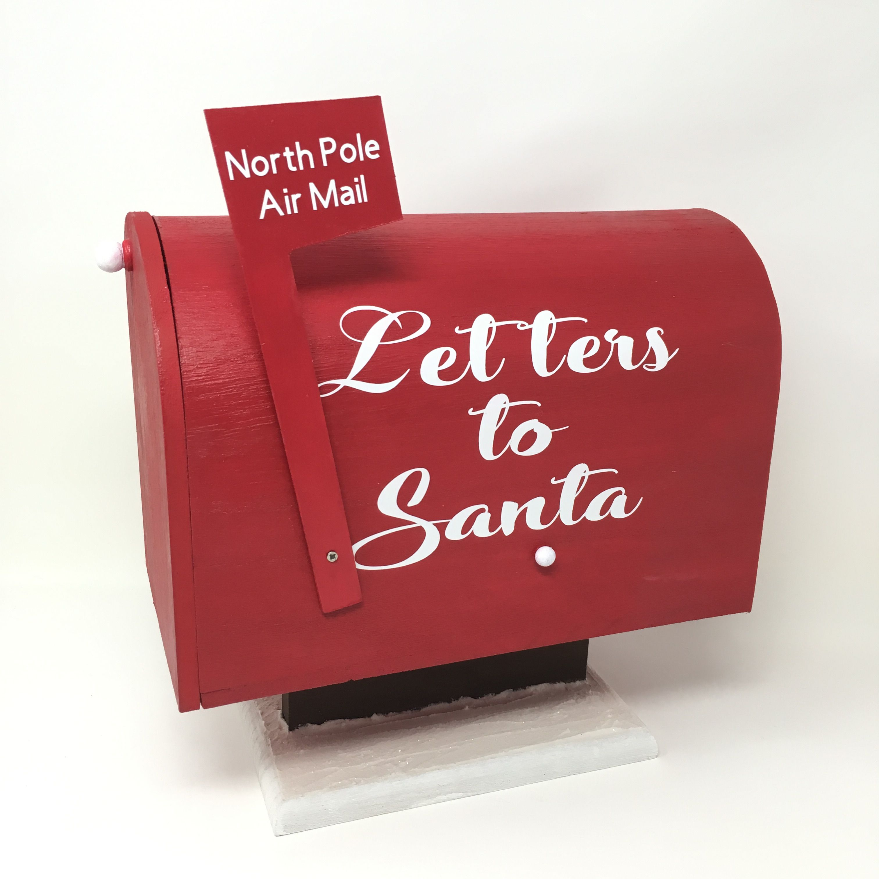 Letters To Santa Mailbox Customizable Con Imagenes