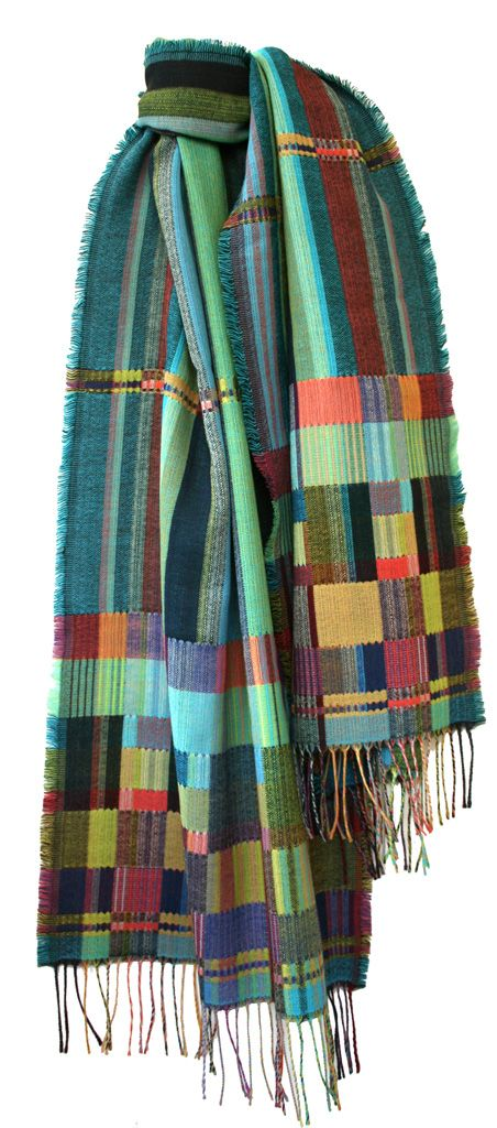 New Double Cloth Wool Wraps — Scarves — wallace#sewell | Loomwork ...