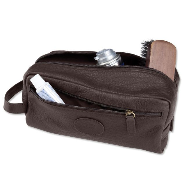 Just Found This Mens Bison Leather Toiletry Bag Kit Orvis On