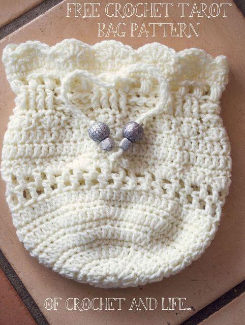 Of Crochet And Life Tashas Tarot Bag Crochet Pattern