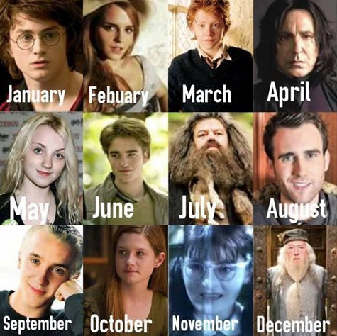 Your Birth Month Is Your Date For The Yule Ball Comment Below Who You Get Posted By Katie W Harry Potter Birthday Birthday Scenario Game Harry Potter Film