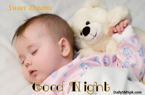 Good Night Sleeping Baby Wallpapers Images Greetings