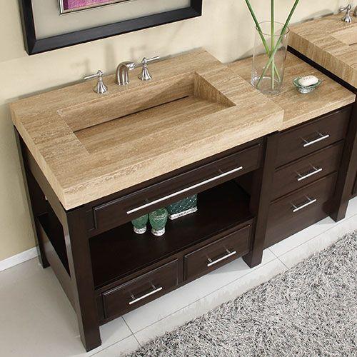 large bathroom sink with vanity