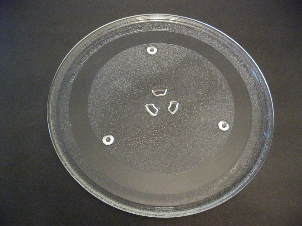Microwave Oven 3 Legs Gl Tray Dish
