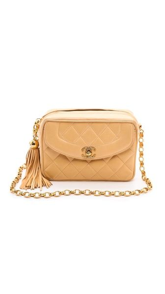 What Goes Around Comes Around Chanel Quilted Tassel Bag