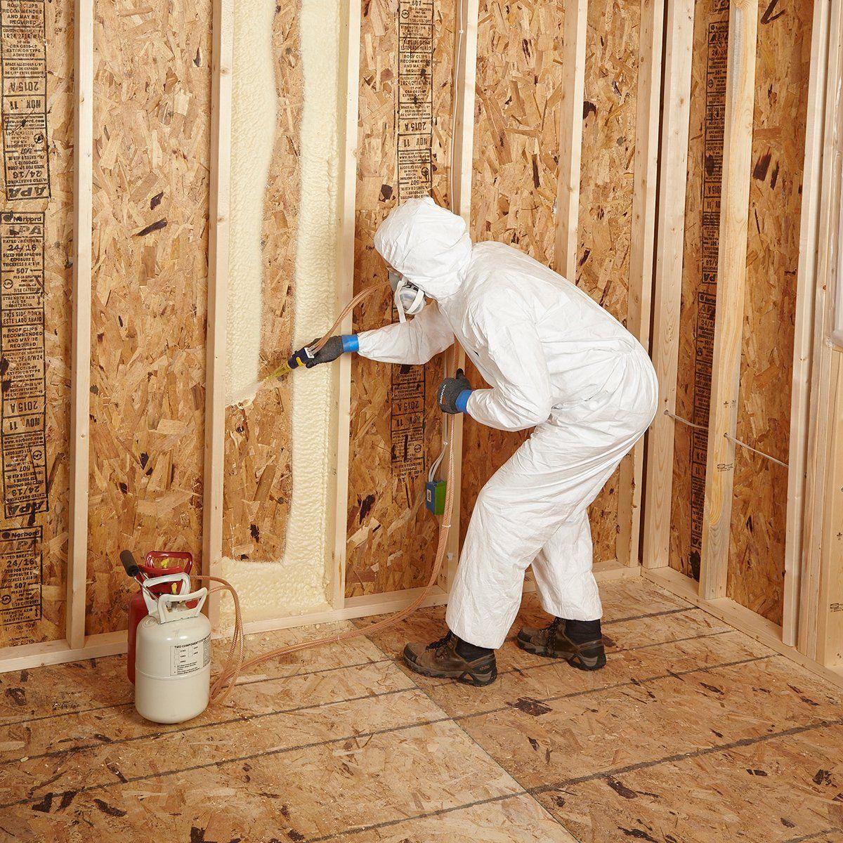 Spray Foam Insulation Tips Diy spray foam insulation