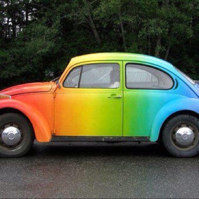 Rainbow Slug Bug